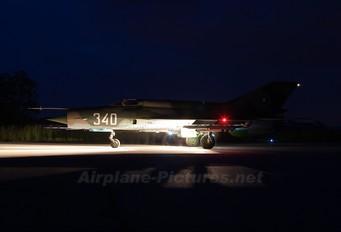 340 - Bulgaria - Air Force Mikoyan-Gurevich MiG-21bis