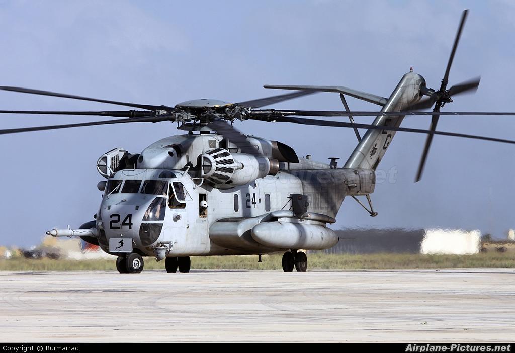 164366 - USA - Marine Corps Sikorsky CH-53 Sea Stallion at ...