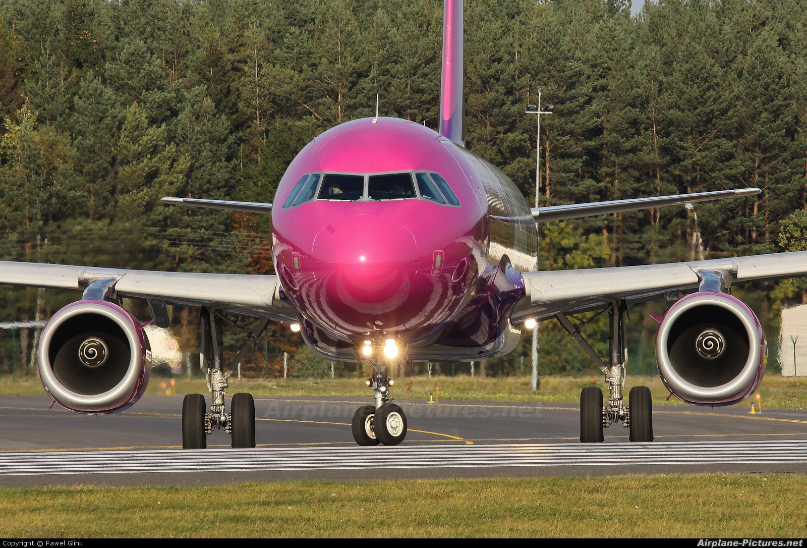 Wizz Air HA-LPN aircraft at Gdańsk - Lech Wałęsa