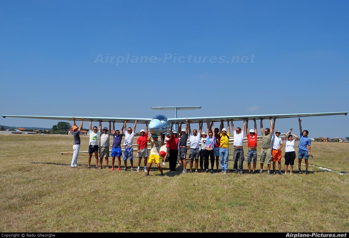 Private YR-1447 aircraft at Balta verde