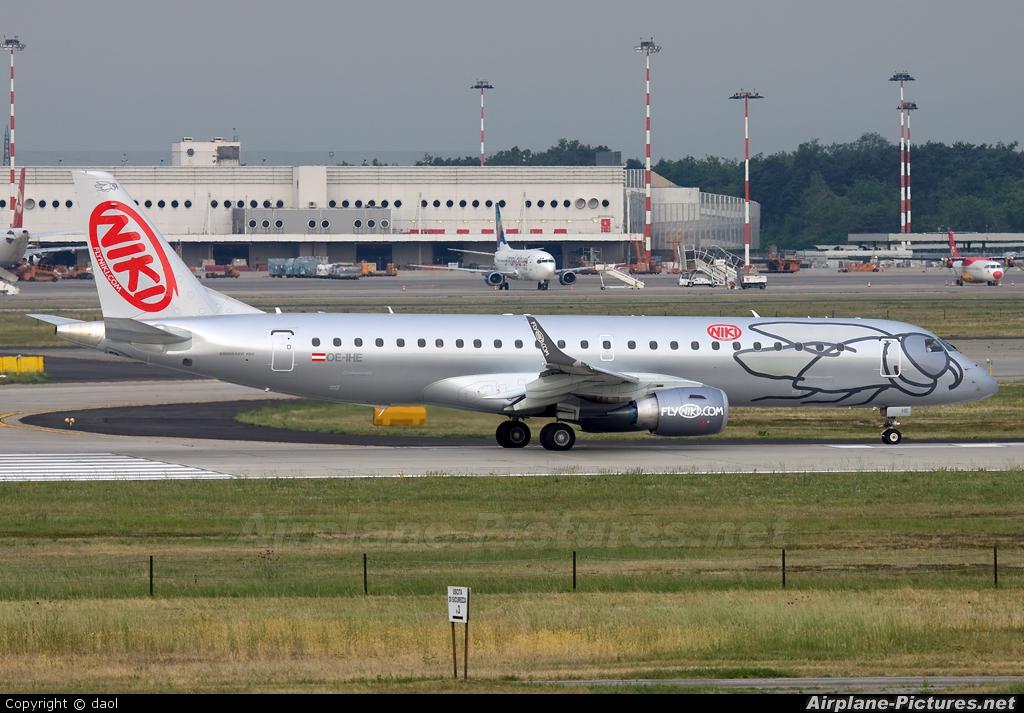 Niki OE-IHE aircraft at Milan - Malpensa