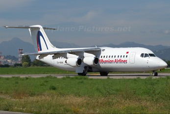 ZA-MAN - Albanian Airlines British Aerospace BAe 146-300/Avro RJ100