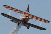 N707TJ - Breitling Wingwalkers Boeing Stearman, Kaydet (all models) aircraft