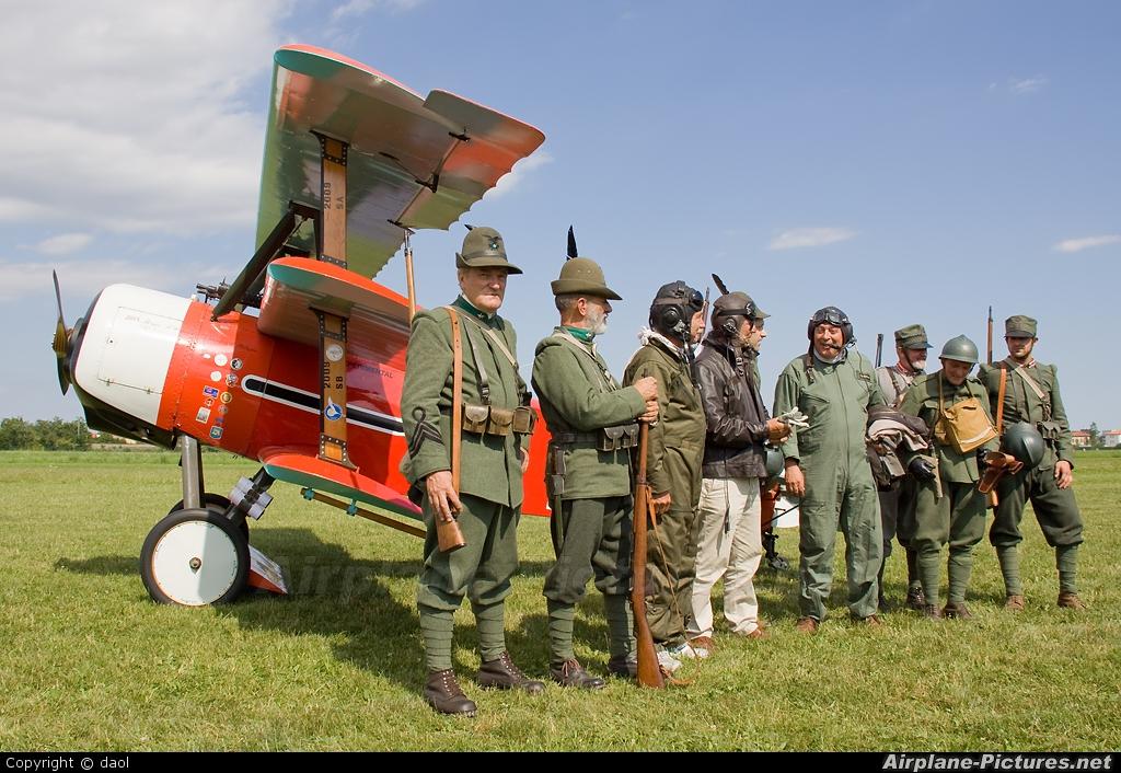 Private I-LYNC aircraft at Thiene - Arturo Ferrarin