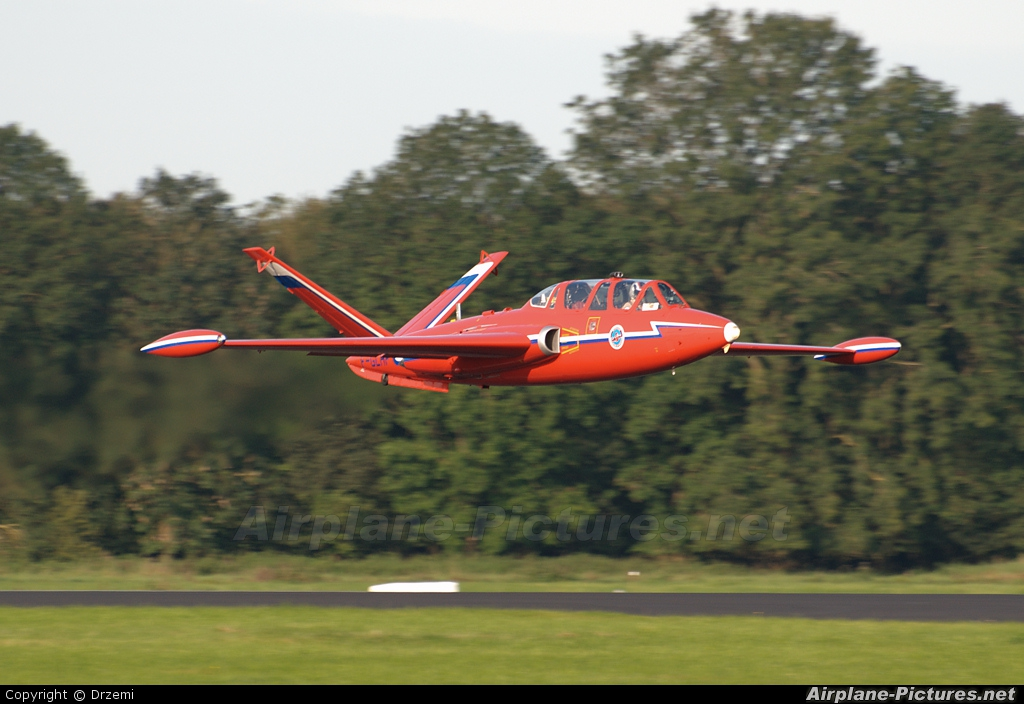 Private F-GLHF aircraft at Leeuwarden