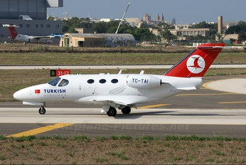 TC-TAI - Turkish Airlines Cessna 510 Citation Mustang