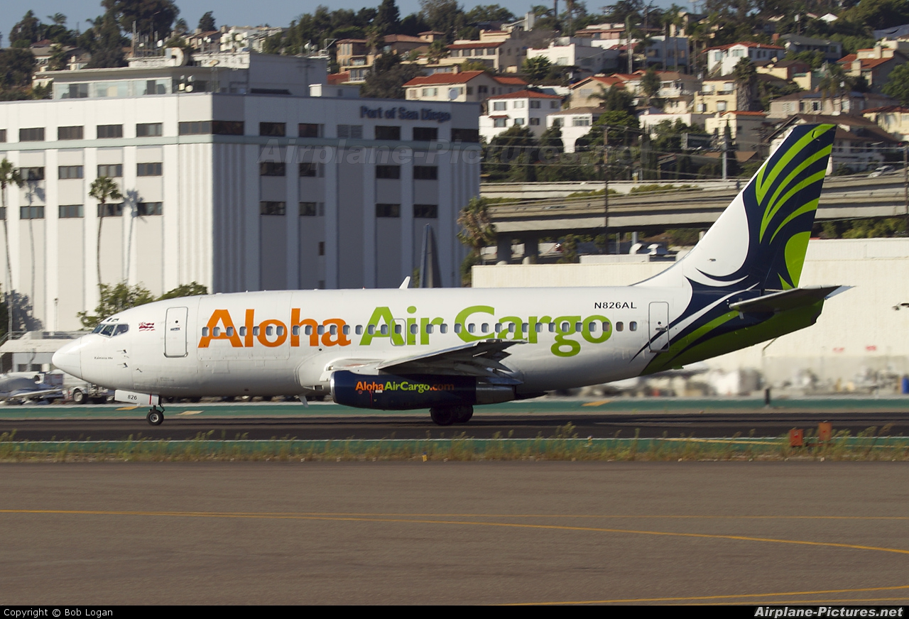 Aloha Air Cargo N826AL aircraft at San Diego - Lindbergh Field