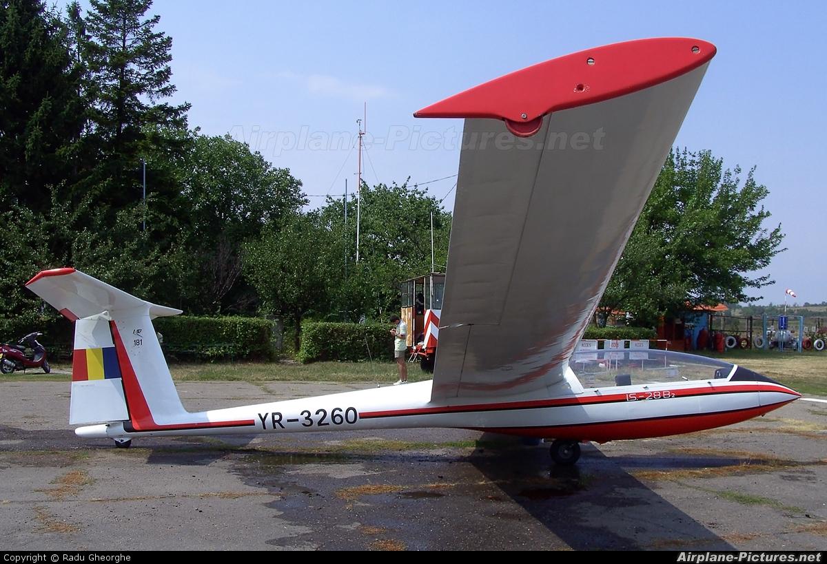 Romanian Airclub YR-3260 aircraft at Iasi-South