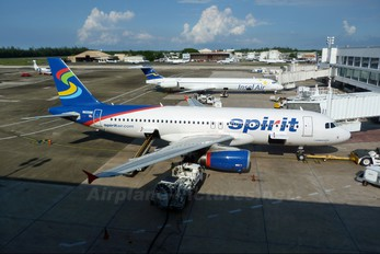 N605NK - Spirit Airlines Airbus A320