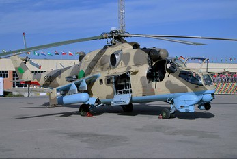 863 - Libya - Air Force Mil Mi-35