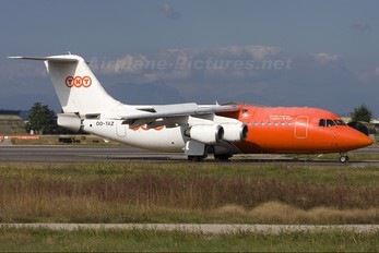 OO-TAZ - TNT British Aerospace BAe 146-200/Avro RJ85-QC