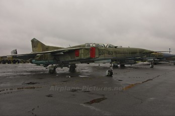 2063 - Germany - Democratic Republic Air Force Mikoyan-Gurevich MiG-23UB