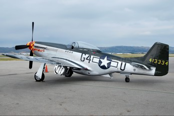 N7715C - Private North American P-51D Mustang