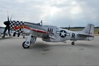 N251BP - Private North American P-51D Mustang