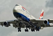 G-BNLO - British Airways Boeing 747-400 aircraft