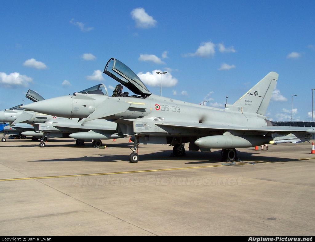 Italy - Air Force MM7293 aircraft at Waddington