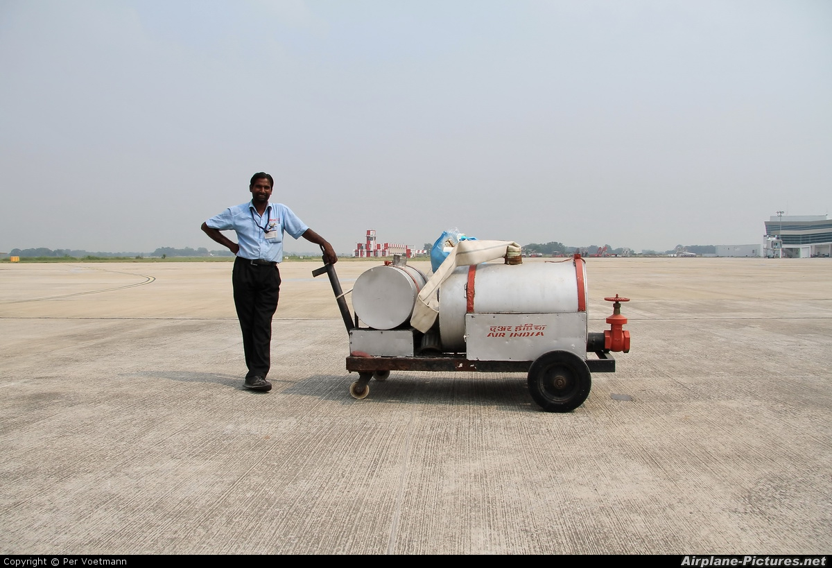 - Airport Overview - aircraft at Varanasi