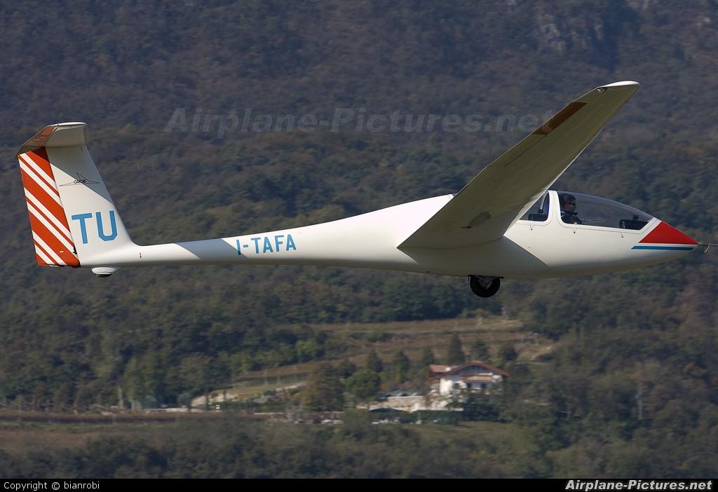 Private I-TAFA aircraft at Trento - Mattarello