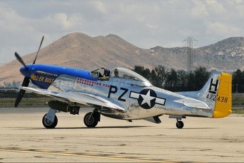 N7551T - Private North American P-51D Mustang