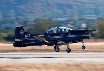 667 - Bulgaria - Air Force Pilatus PC-9M