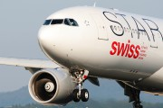 HB-IQR - Swiss Airbus A330-200 aircraft
