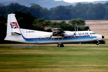 G-BHMX - Air UK Fokker F27