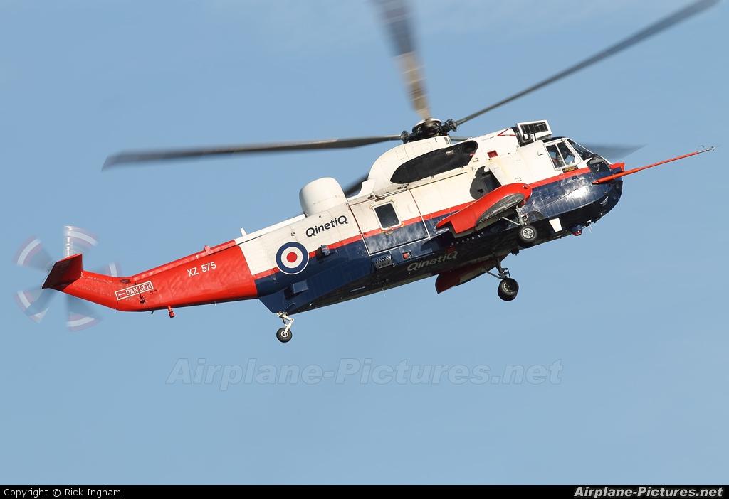 UK - QinetiQ XZ575 aircraft at Boscombe Down