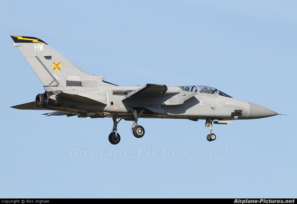UK - QinetiQ ZH552 aircraft at Boscombe Down