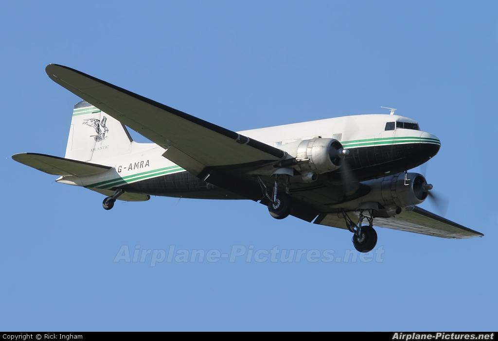 Air Atlantique G-AMRA aircraft at Boscombe Down