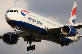G-BNWA - British Airways Boeing 767-300