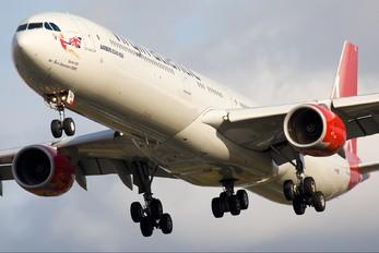 G-VWEB - Virgin Atlantic Airbus A340-600