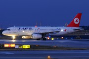 TC-JPG - Turkish Airlines Airbus A320 aircraft