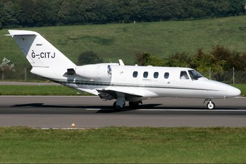 G-CITJ - Centreline Air Charter Cessna 525 CitationJet