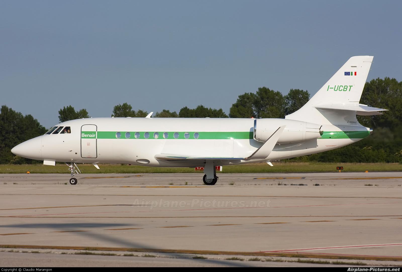 Benair I-UCBT aircraft at Treviso (Venice) - San Angelo