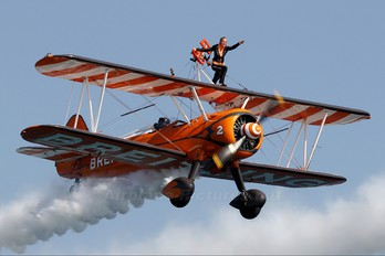 N74189 - Breitling Wingwalkers Boeing Stearman, Kaydet (all models)