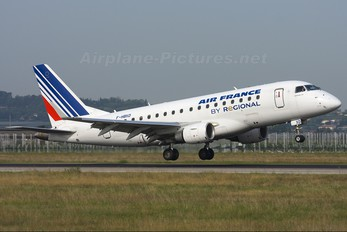 F-HBXD - Air France - Regional Embraer ERJ-170 (170-100)