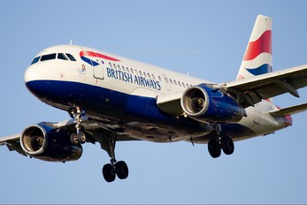 G-EUPY - British Airways Airbus A319