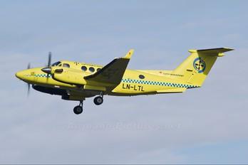 LN-LTL - Lufttransport Beechcraft 200 King Air