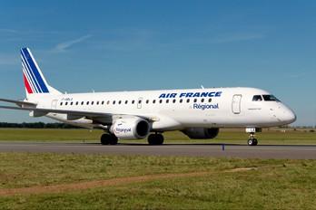 F-HBLA - Air France - Regional Embraer ERJ-190 (190-100)