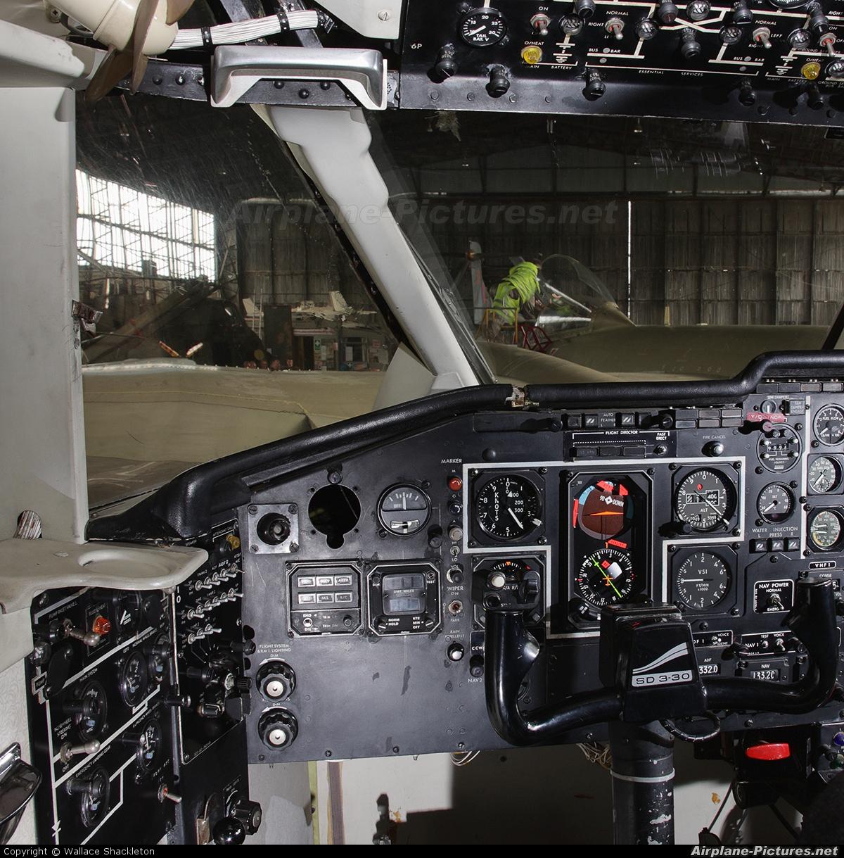 Short Brothers G-BDBS aircraft at Long Kesh