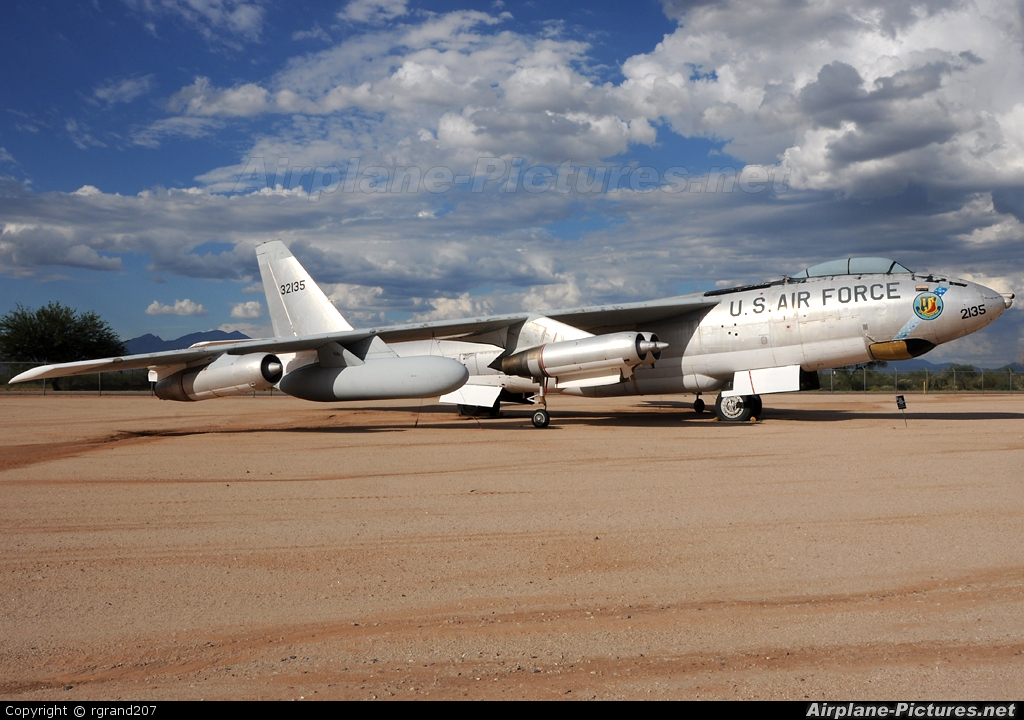 USA - Air Force 63-2135 aircraft at Tucson - Pima Air & Space Museum