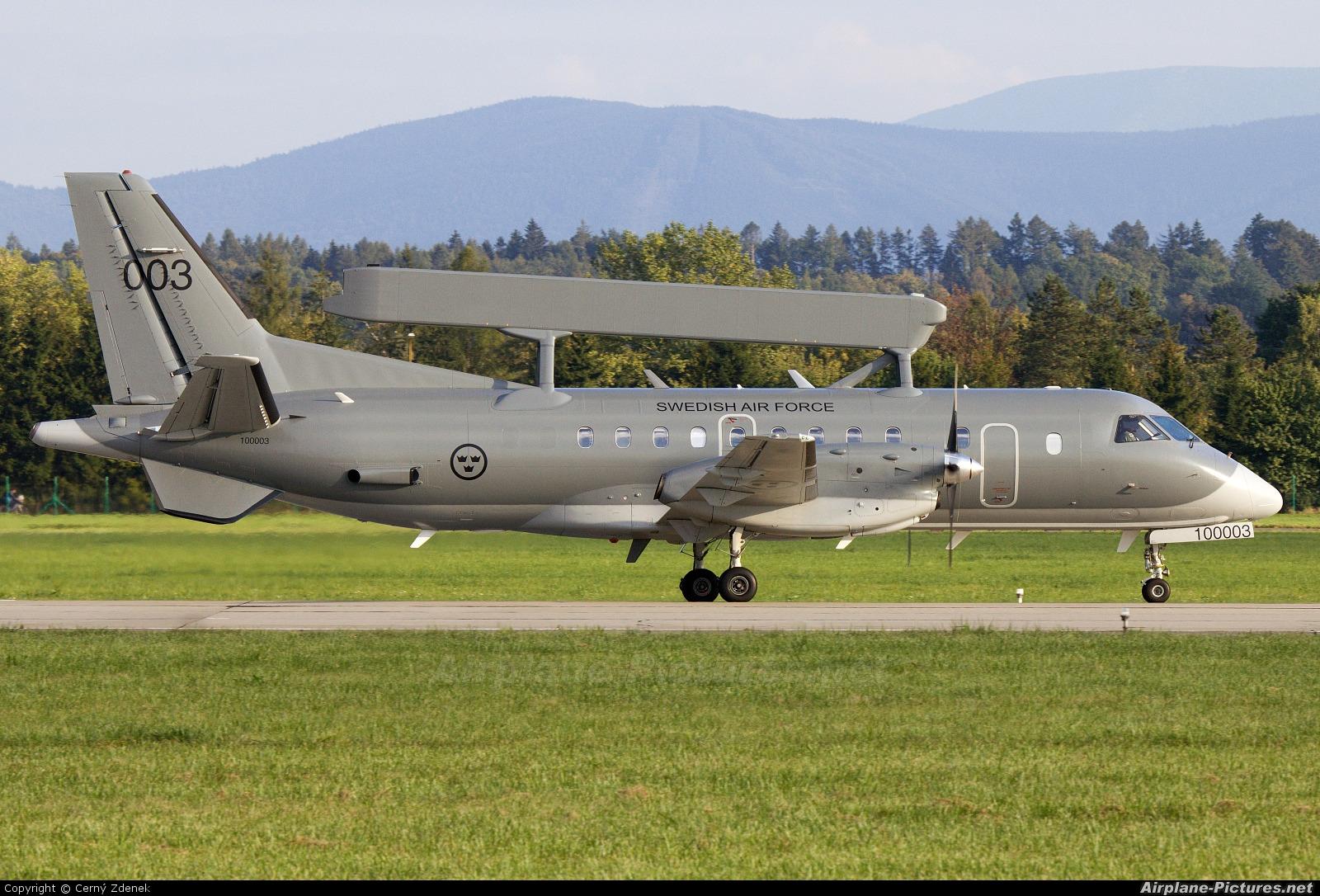 Sweden - Air Force 100003 aircraft at Ostrava Mošnov