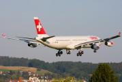 HB-JMG - Swiss Airbus A340-300 aircraft