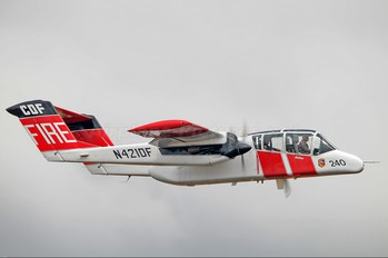 N421DF - California - Dept. of Forestry & Fire Protection North American OV-10 Bronco