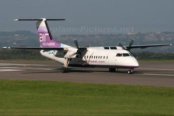 G-WOWB - Air Southwest de Havilland Canada DHC-8-300Q Dash 8