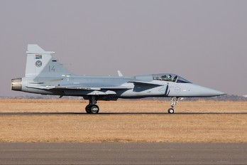 14 - South Africa - Air Force SAAB JAS 39C Gripen