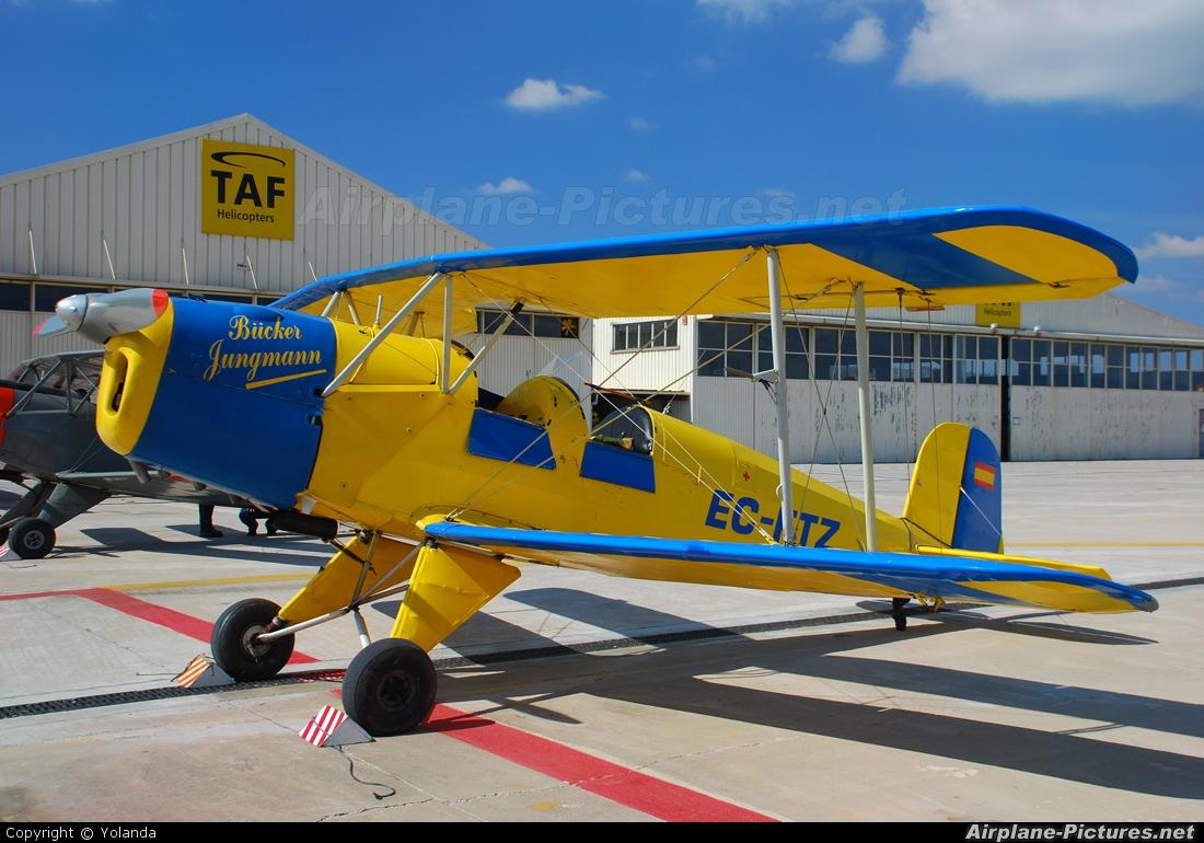 Fundació Parc Aeronàutic de Catalunya EC-FTZ aircraft at Sabadell
