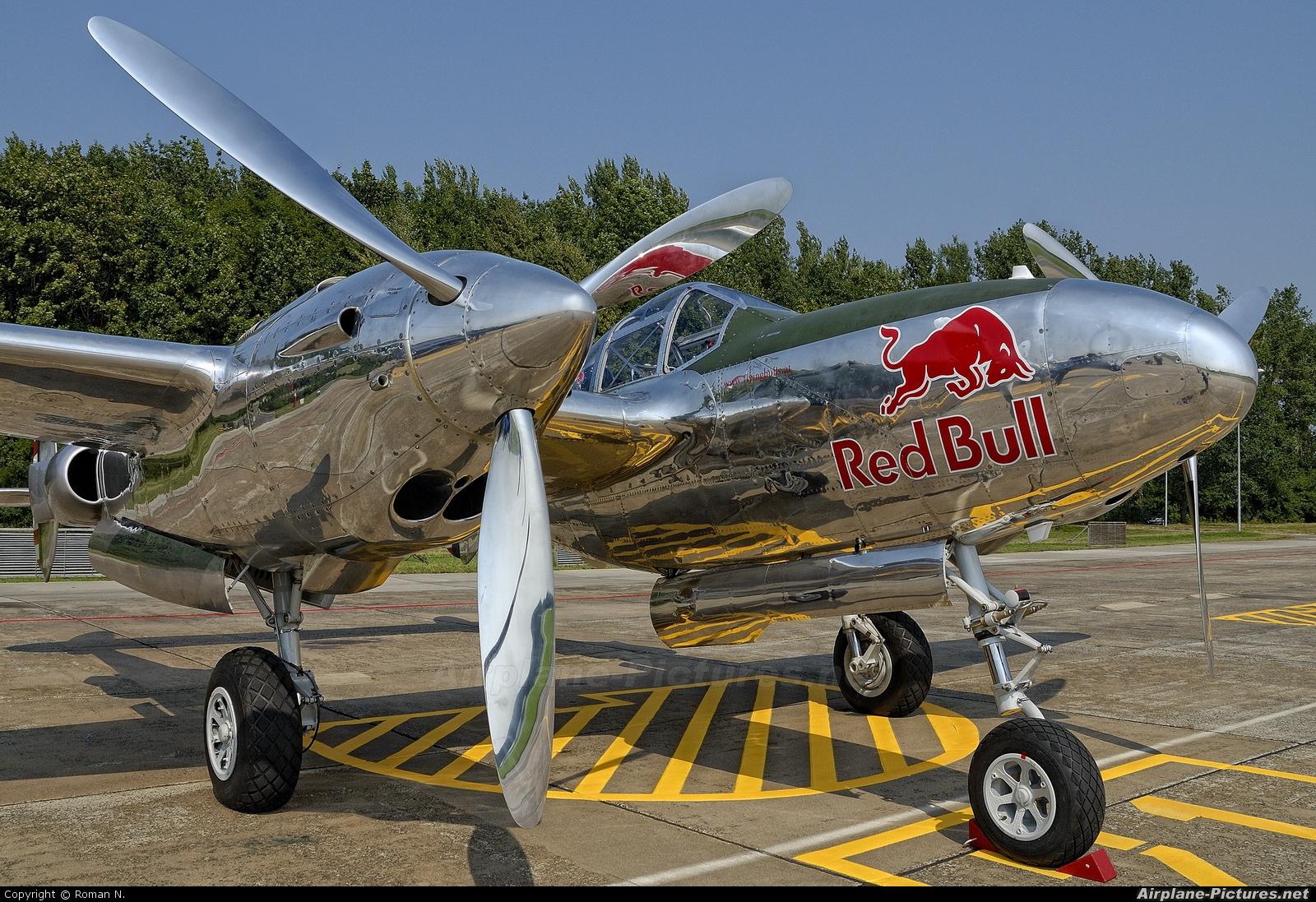 The Flying Bulls N25Y aircraft at Radom - Sadków