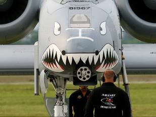81-967 - USA - Air Force Fairchild A-10 Thunderbolt II (all models)