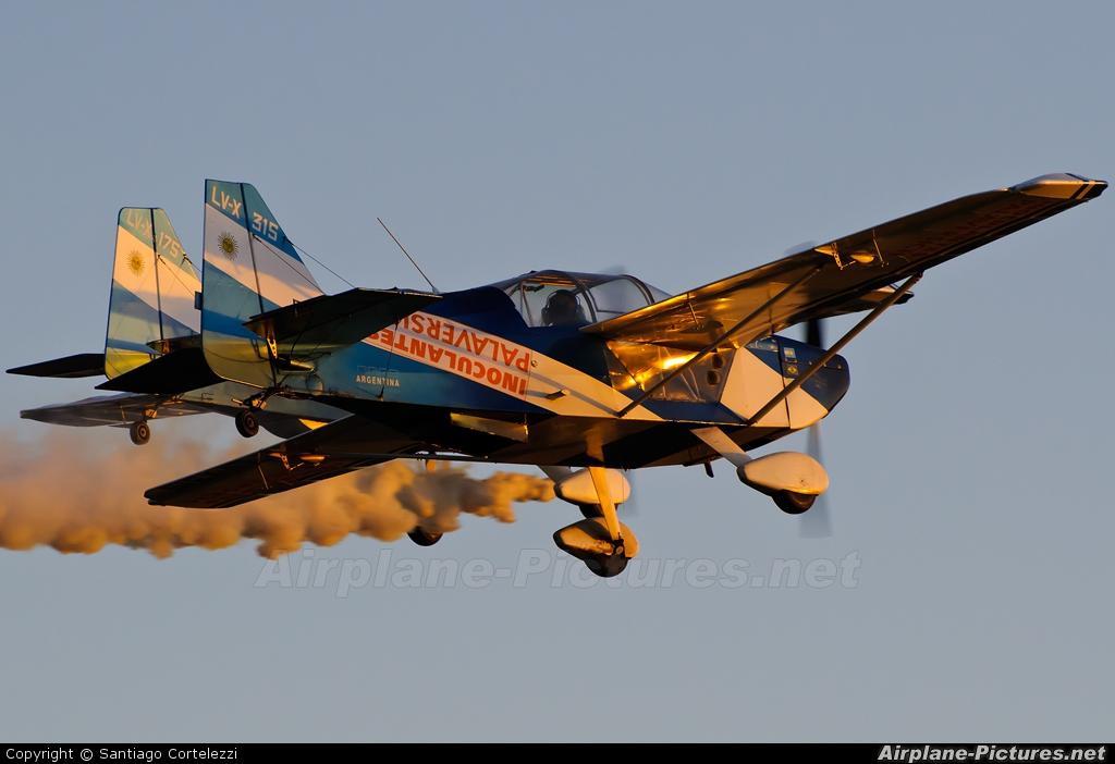Private LV-X315 aircraft at Pergamino